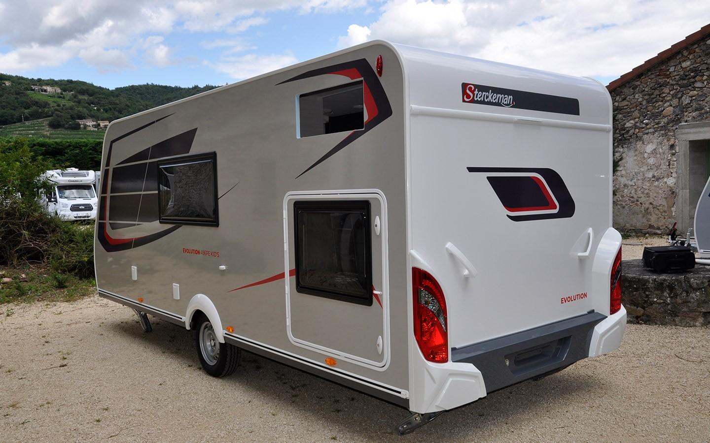 Sterckeman Wohnwagen Evolution - Caravaneck Porta Westfalica