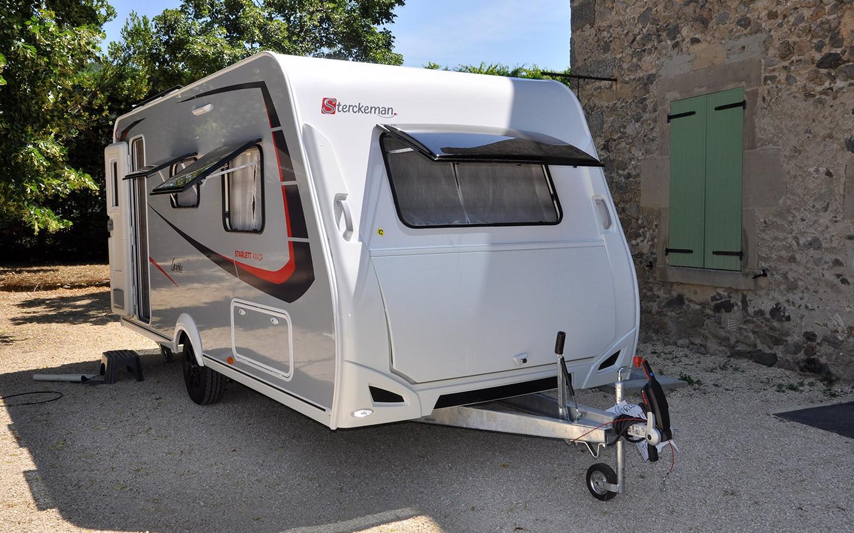Sterckeman Wohnwagen Starlett Graphite - Caravaneck Porta Westfalica